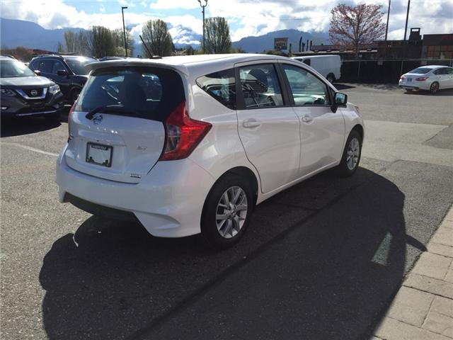 2019 Nissan Versa Note SV (Stk: N91-2746) in Chilliwack - Image 5 of 16