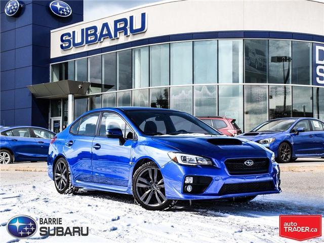 2017 Subaru WRX  (Stk: SUB1374) in Innisfil - Image 1 of 22