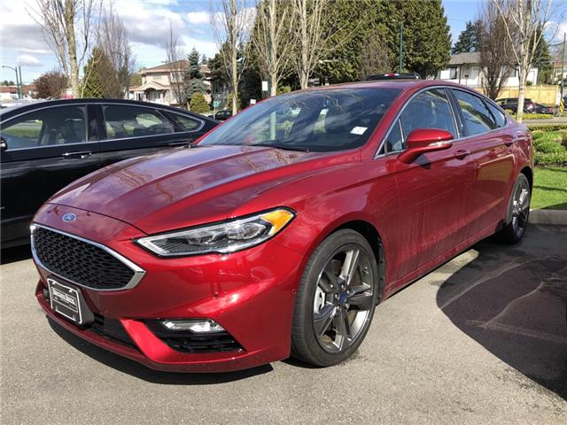 2018 Ford Fusion V6 Sport (Stk: 18503) in Vancouver - Image 1 of 8