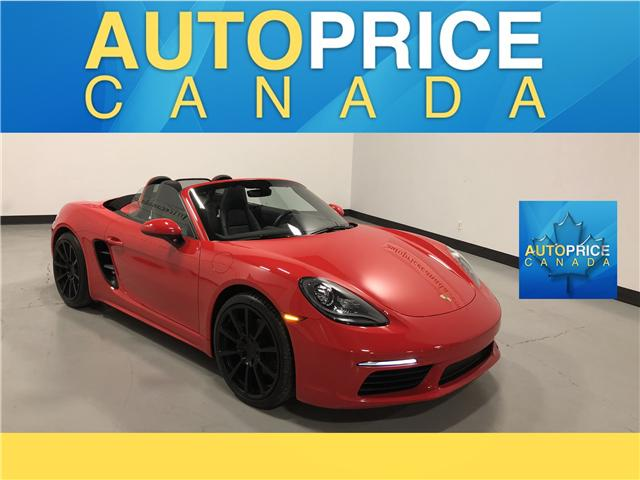 2017 Porsche 718 Boxster Base (Stk: N0227) in Mississauga - Image 1 of 21