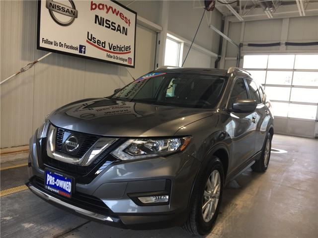 2017 Nissan Rogue SV (Stk: P0659) in Owen Sound - Image 1 of 10