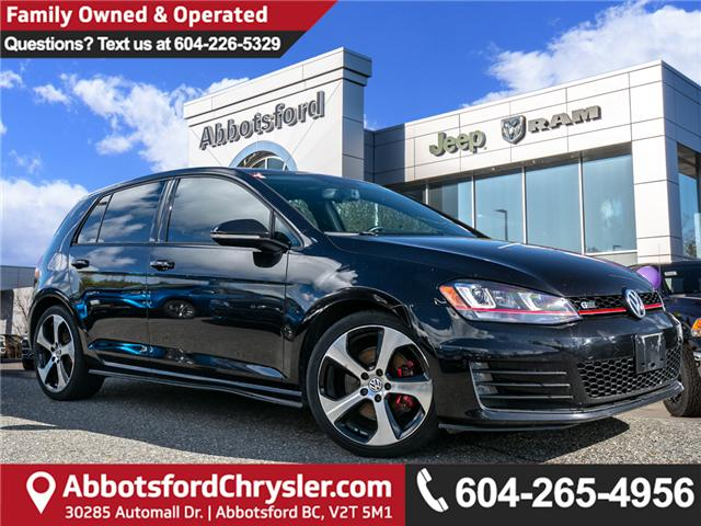 2015 Volkswagen Golf GTI 5-Door Autobahn (Stk: AG0800A) in Abbotsford - Image 1 of 21