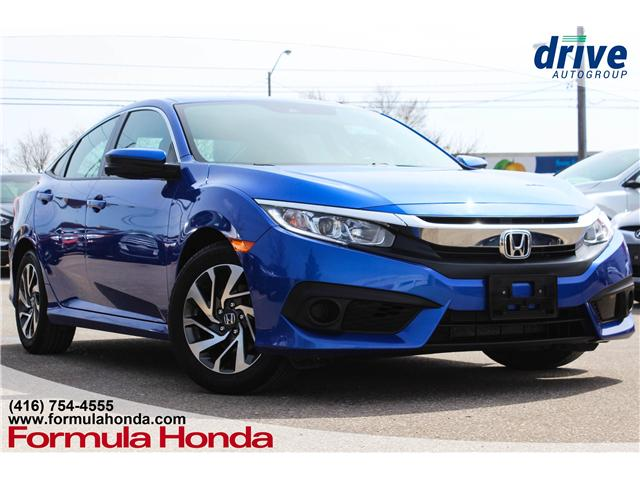 2017 Honda Civic EX (Stk: B11080) in Scarborough - Image 1 of 27