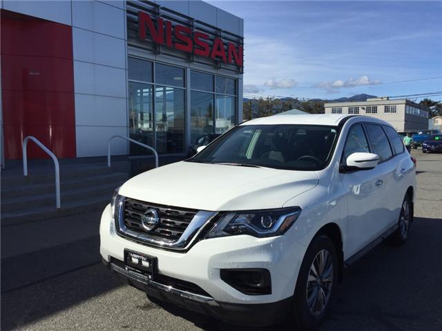 2019 Nissan Pathfinder S (Stk: N96-4170) in Chilliwack - Image 1 of 16