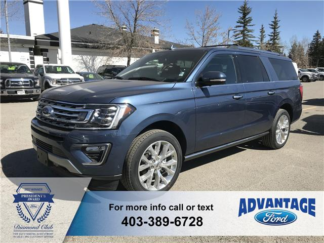2019 Ford Expedition Max Limited (Stk: K-1176) in Calgary - Image 1 of 5