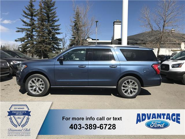 2019 Ford Expedition Max Limited (Stk: K-1176) in Calgary - Image 2 of 5