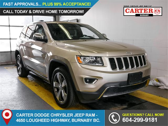 2015 Jeep Grand Cherokee Limited (Stk: G347581) in Burnaby - Image 1 of 24
