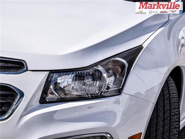 2015 Chevrolet Cruze 2LT-LEATHER-ROOF-GM CERTIFIED PRE-OWNED-1 OWNER (Stk: P6309) in Markham - Image 3 of 29