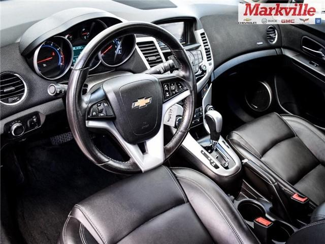 2015 Chevrolet Cruze 2LT-LEATHER-ROOF-GM CERTIFIED PRE-OWNED-1 OWNER (Stk: P6309) in Markham - Image 12 of 29