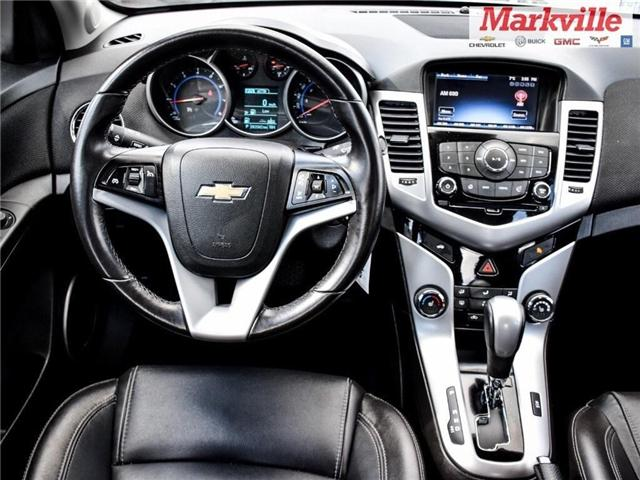 2015 Chevrolet Cruze 2LT-LEATHER-ROOF-GM CERTIFIED PRE-OWNED-1 OWNER (Stk: P6309) in Markham - Image 22 of 29