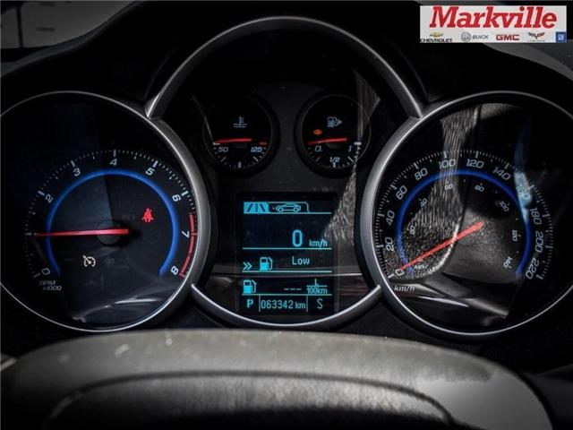 2015 Chevrolet Cruze 2LT-LEATHER-ROOF-GM CERTIFIED PRE-OWNED-1 OWNER (Stk: P6309) in Markham - Image 24 of 29