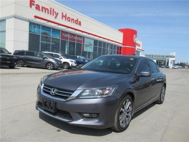 2015 Honda Accord Sport, HONDA CERTIFIED! (Stk: 9801330A) in Brampton - Image 1 of 28