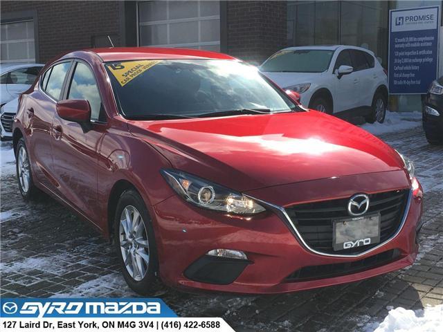 2015 Mazda Mazda3 GS (Stk: 28511) in East York - Image 1 of 30