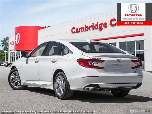 2019 Honda Accord LX 1.5T (Stk: 19619) in Cambridge - Image 4 of 24