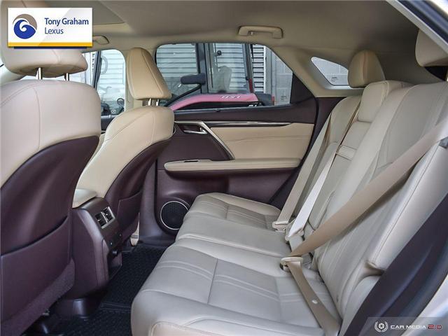 2017 Lexus RX 350 Base (Stk: P8393A) in Ottawa - Image 25 of 30