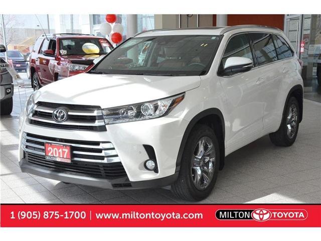 2017 Toyota Highlander  (Stk: 386910A) in Milton - Image 1 of 45