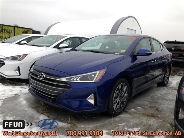 2019 Hyundai Elantra Limited (Stk: EL91757) in Edmonton - Image 1 of 6
