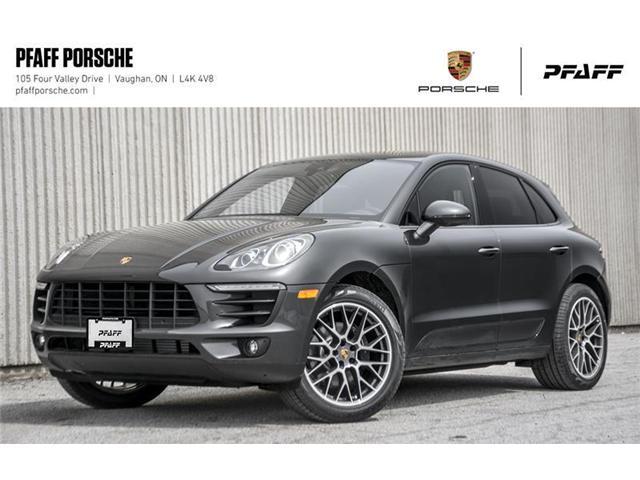 2018 Porsche Macan Sport Edition (Stk: P14171) in Vaughan - Image 1 of 21