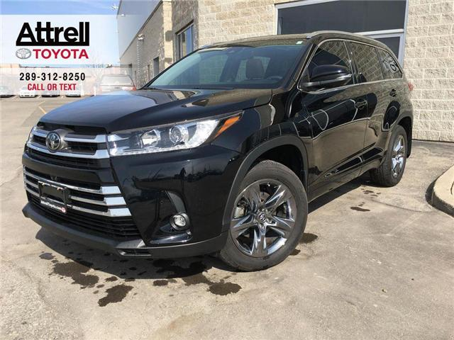 2019 Toyota Highlander LIMITED V6 ALLOYS, SUNROONF, NAVI, PANO ROOF, SAFE (Stk: 43732A) in Brampton - Image 1 of 29