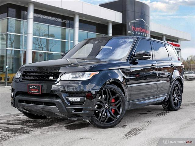 2017 Land Rover Range Rover Sport HSE DYNAMIC (Stk: 19HMS078) in Mississauga - Image 1 of 27
