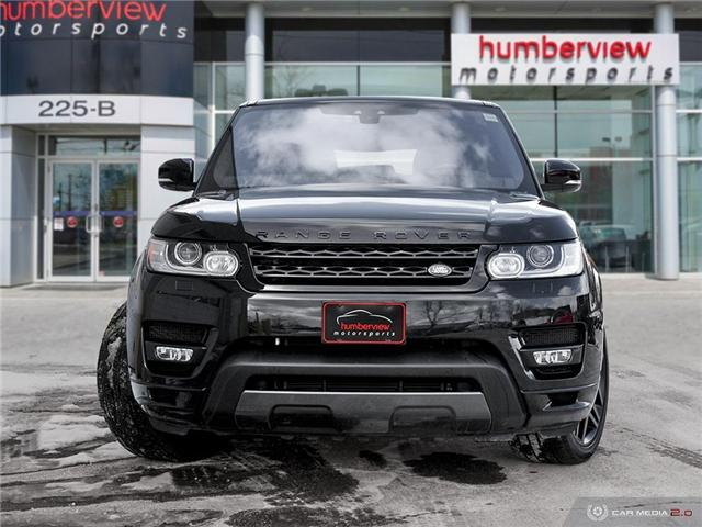 2017 Land Rover Range Rover Sport HSE DYNAMIC (Stk: 19HMS078) in Mississauga - Image 2 of 27