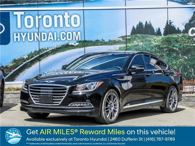 2017 Genesis G80 3.8 Luxury (Stk: GU0044) in Toronto - Image 1 of 22