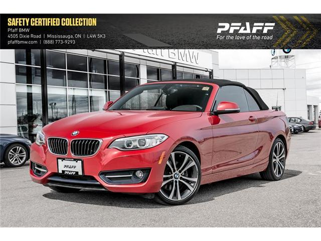 2015 BMW 228i xDrive (Stk: U5394) in Mississauga - Image 1 of 22