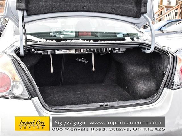 2012 Nissan Altima 2.5 S (Stk: 105924) in Ottawa - Image 29 of 29