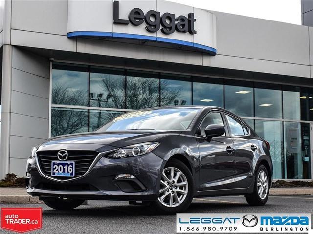 2016 Mazda Mazda3 GS- AUTOMATIC, A/C, HEATED SEATS, BLUETOOTH (Stk: 1824LT) in Burlington - Image 1 of 23