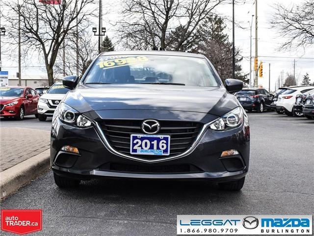 2016 Mazda Mazda3 GS- AUTOMATIC, A/C, HEATED SEATS, BLUETOOTH (Stk: 1824LT) in Burlington - Image 2 of 23