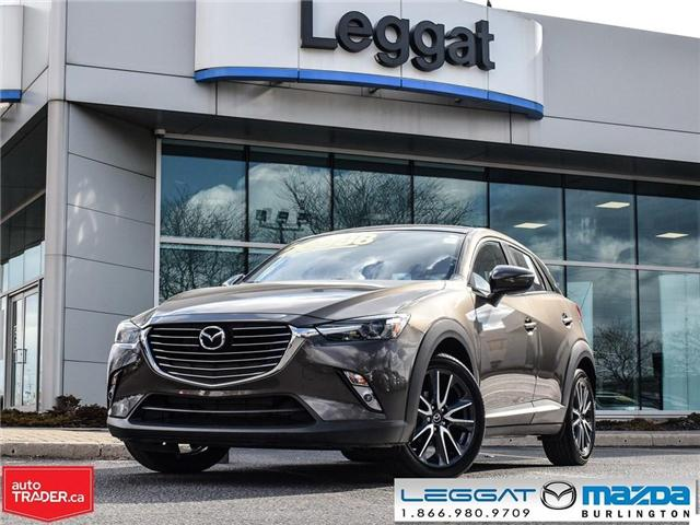 2018 Mazda CX-3 GT- LEATHER, BOSE, BLUETOOTH, MOONROOF (Stk: 1828) in Burlington - Image 1 of 23