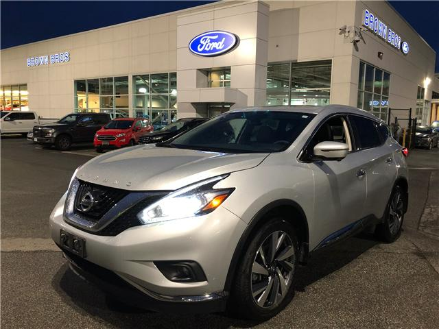 2017 Nissan Murano Platinum (Stk: OP19113) in Vancouver - Image 1 of 25