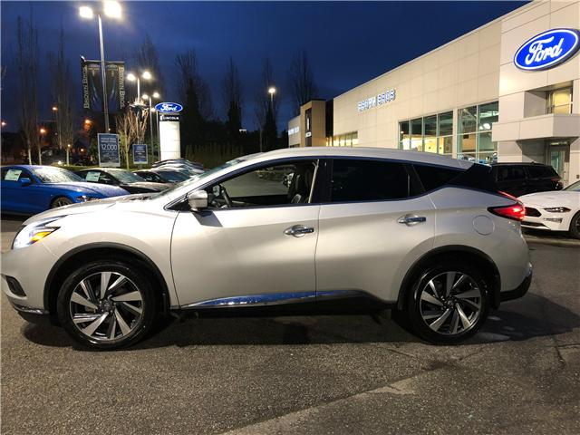 2017 Nissan Murano Platinum (Stk: OP19113) in Vancouver - Image 2 of 25
