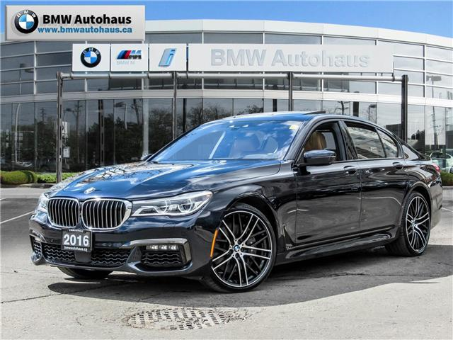 2016 BMW 750i xDrive (Stk: P8823) in Thornhill - Image 1 of 34