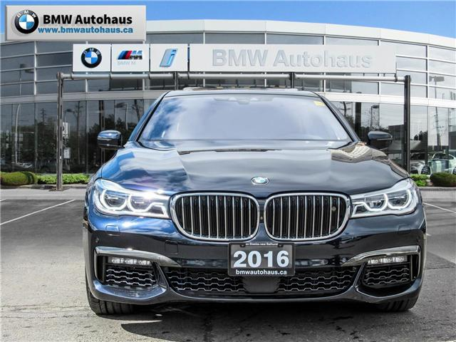 2016 BMW 750i xDrive (Stk: P8823) in Thornhill - Image 2 of 34