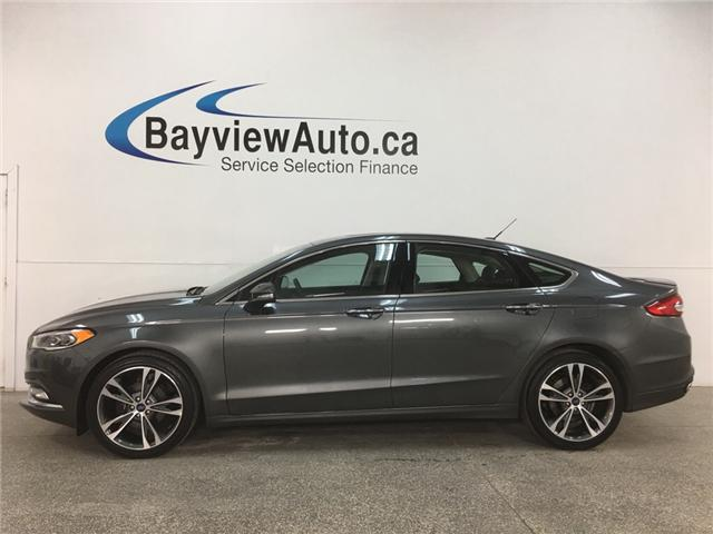 2018 Ford Fusion Titanium (Stk: 34638W) in Belleville - Image 1 of 30
