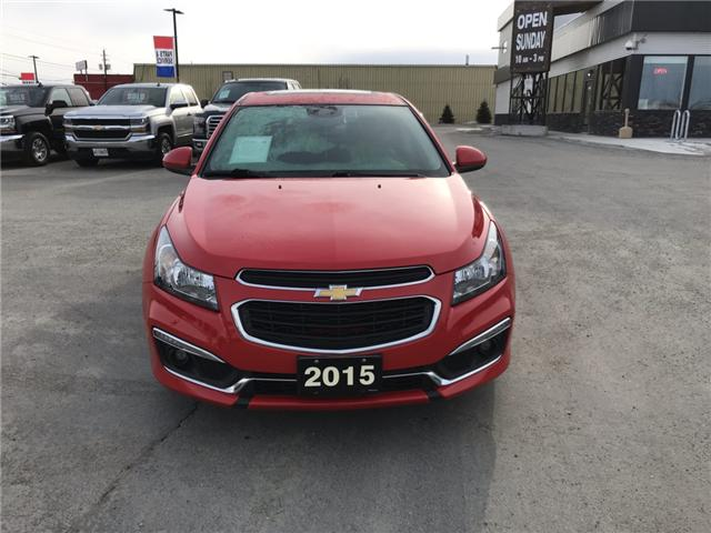 2015 Chevrolet Cruze 1LT (Stk: 19163) in Sudbury - Image 2 of 13
