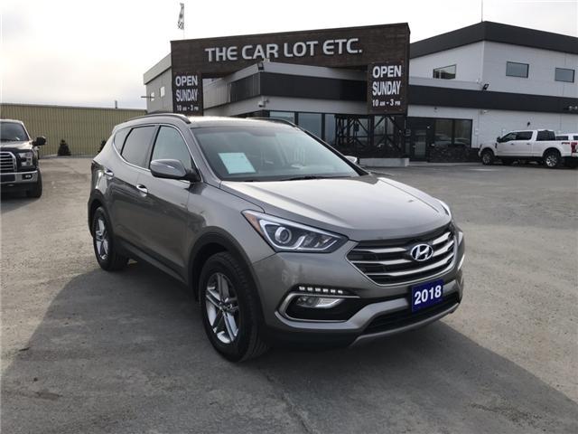 2018 Hyundai Santa Fe Sport 2.4 Base (Stk: 19156) in Sudbury - Image 1 of 13