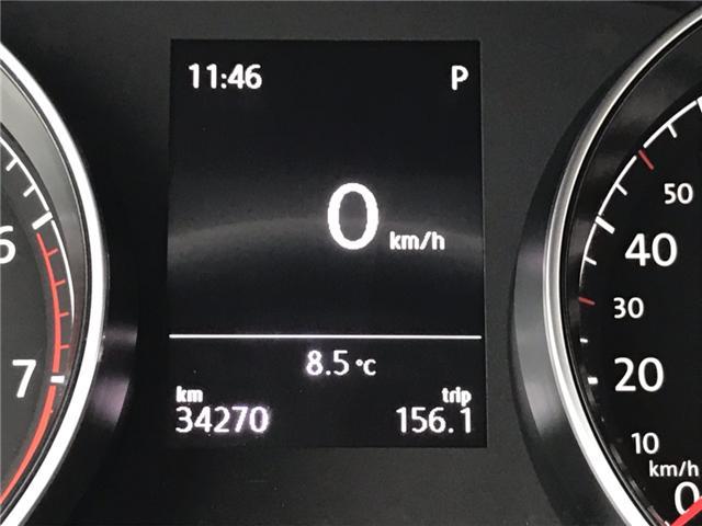 2018 Volkswagen Golf SportWagen 1.8 TSI Comfortline (Stk: JM761686) in Sarnia - Image 15 of 24