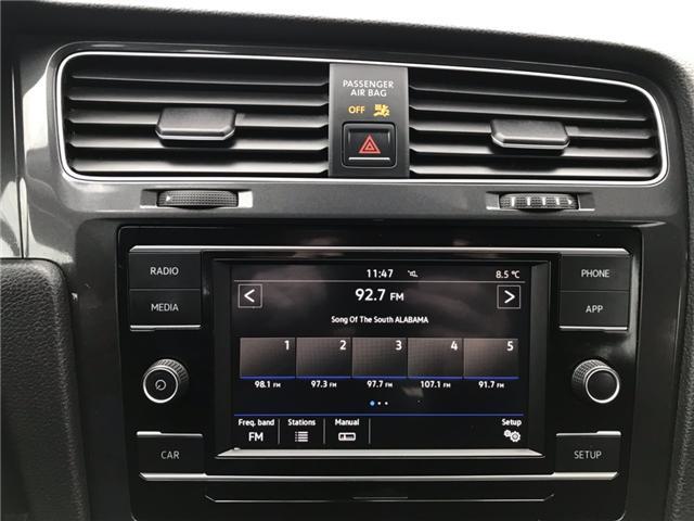 2018 Volkswagen Golf SportWagen 1.8 TSI Comfortline (Stk: JM761686) in Sarnia - Image 21 of 24