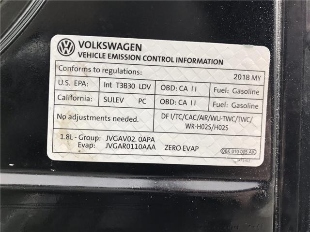 2018 Volkswagen Golf SportWagen 1.8 TSI Comfortline (Stk: JM761686) in Sarnia - Image 23 of 24