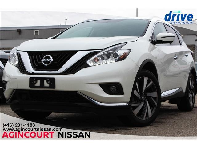 2018 Nissan Murano Platinum (Stk: U12181) in Scarborough - Image 1 of 28