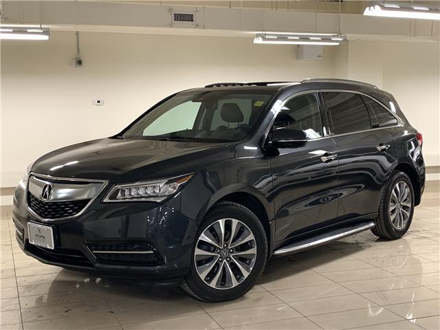 2016 Acura MDX Technology Package (Stk: M12577A) in Toronto - Image 1 of 34