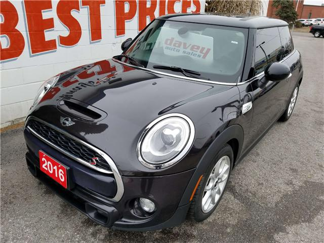 2016 MINI 3 Door Cooper S (Stk: 19-198) in Oshawa - Image 1 of 13