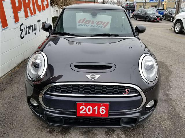 2016 MINI 3 Door Cooper S (Stk: 19-198) in Oshawa - Image 2 of 13