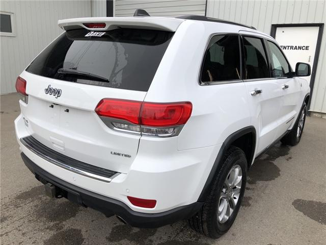 2015 Jeep Grand Cherokee Limited (Stk: 6689) in Fort Macleod - Image 6 of 24