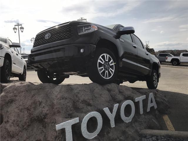 2019 Toyota Tundra Platinum 5.7L V8 (Stk: 190208) in Cochrane - Image 1 of 12