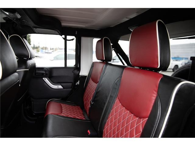 2016 Jeep Wrangler Unlimited Sahara (Stk: K586701A) in Surrey - Image 11 of 24