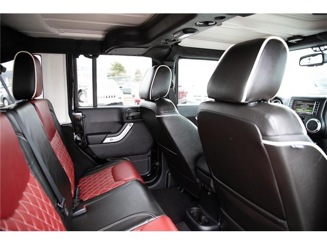 2016 Jeep Wrangler Unlimited Sahara (Stk: K586701A) in Surrey - Image 13 of 24