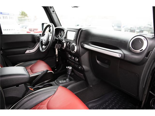 2016 Jeep Wrangler Unlimited Sahara (Stk: K586701A) in Surrey - Image 14 of 24